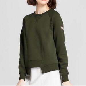 NWT Hunter x Target Olive Sweatshirt XL